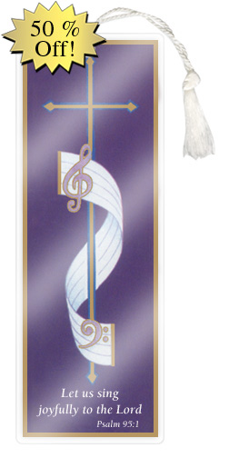 Choir Bookmark
