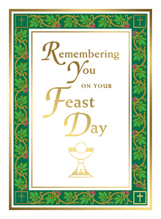 Birthday feast day limited quantities feast day card limited quantities feast day card m4hsunfo Images