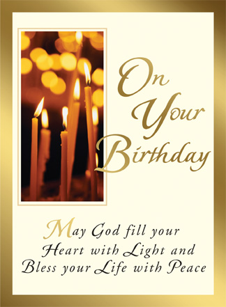 Birthday feast day candles birthday card candles birthday card m4hsunfo
