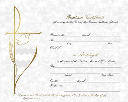 Baptism parchment baptism certificate parchment baptism certificate yelopaper Choice Image