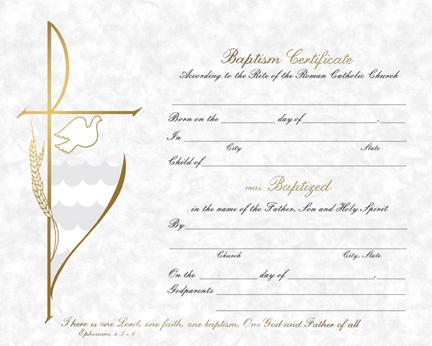 Free catholic baptism certificate template image collections baptism parchment baptism certificate parchment baptism certificate yadclub image collections yelopaper Image collections