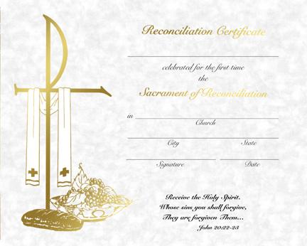 first communion certificate template .