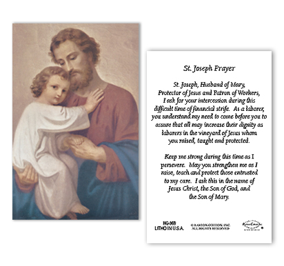 St. Joseph's Prayer for Troubled Times