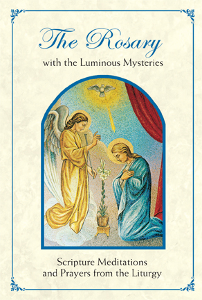 photograph regarding Luminous Mysteries of the Rosary Printable referred to as Booklets - Rosary Booklet with Luminous Mysteries